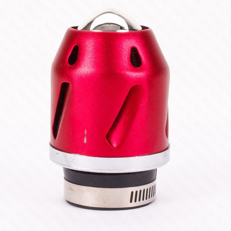 Luftfilter K/&S Grenade rot gerade 28//42mm Anschluss