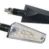 "Lampa ""Duke"" 12V LED-Blinker Set (16 x SMD) Carbon Design"