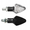 "Lampa ""Penta"" LED Blinker Set 12V - schwarz"